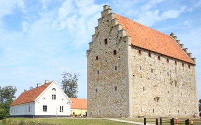Schonen - Skåne: Glimmingehus