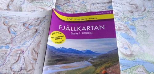 Fjällkartan: Wanderkarten für Schweden – Empfehlungen