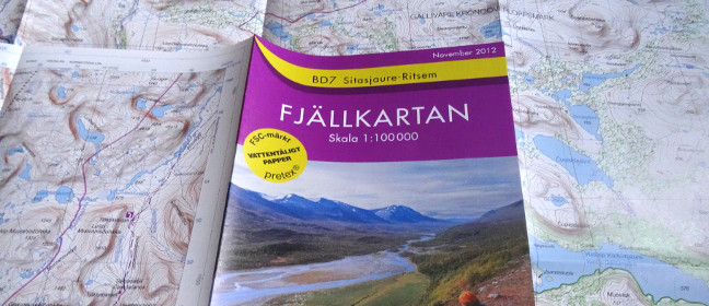 Fjällkartan - Wanderkarten für Schweden