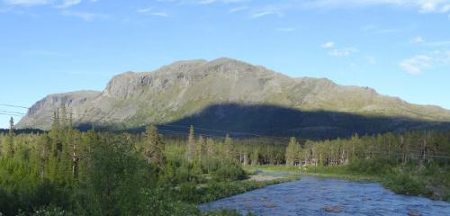 Stora Sjöfallet Nationalpark: Wandern, Hotel, Camping