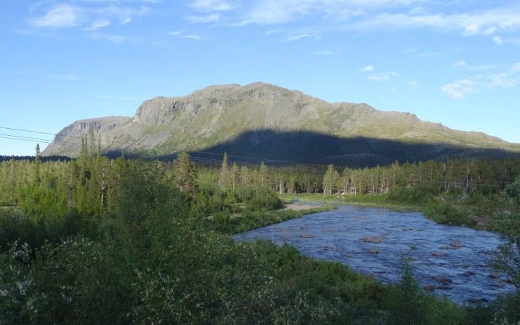 Schwedisch Lappland: Nationalpark Stora Sjöfallet