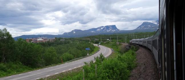 Erzbahn in Schweden: Blick auf Lapporten