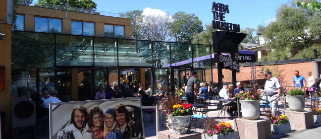 Stockholm: ABBA Museum mit Swedish Music Hall of Fame