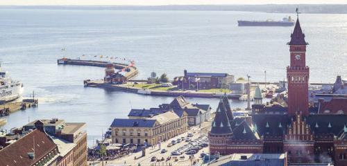 Helsingborg Fähre – über Helsingör nach Schweden