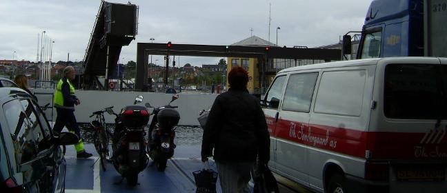 Helsingborg Fähre im Hafen