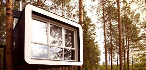 Baumhaushotels & außergewöhnliche Hotels in Schweden