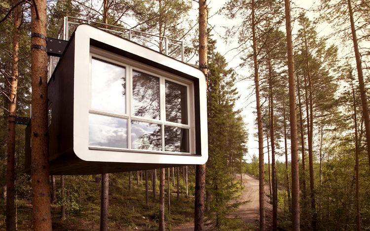 Baumhaushotel Treehotel in Schweden