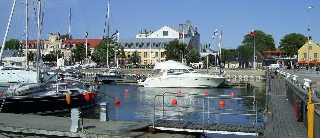 Visby: innerer Hafen