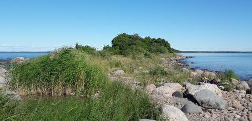 Hindens Rev (Halbinsel Kålland): Wandern im Naturreservat