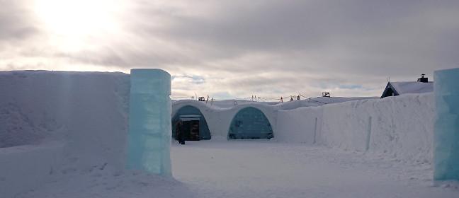 Jukkasjärvi: Eishotel