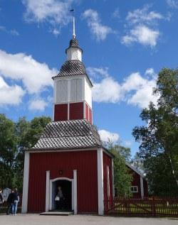Jukkasjärvi: Kirche