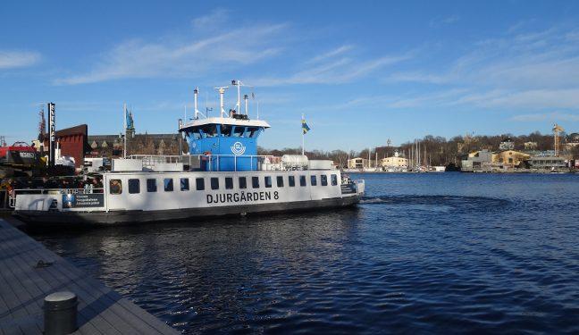 Stockholm Bild: Passagierfähre