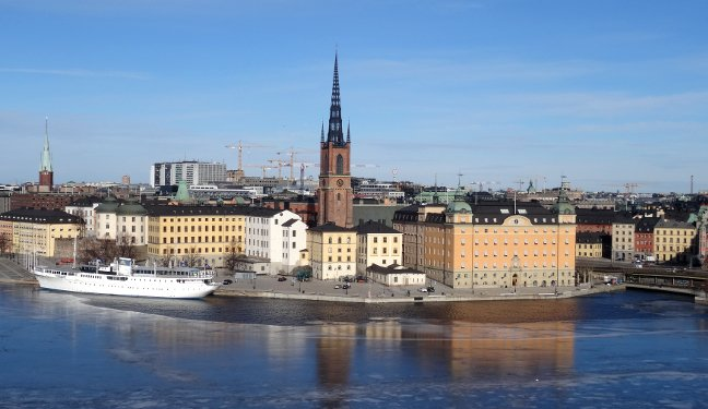 Stockholm Bild: Riddarholmen