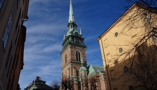 Stockholm Bild: Tyska kyrkan