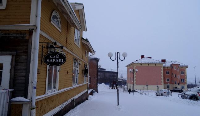 Kiruna Bild: Café Safari