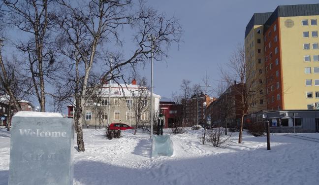 Kiruna Bild: Innenstadt
