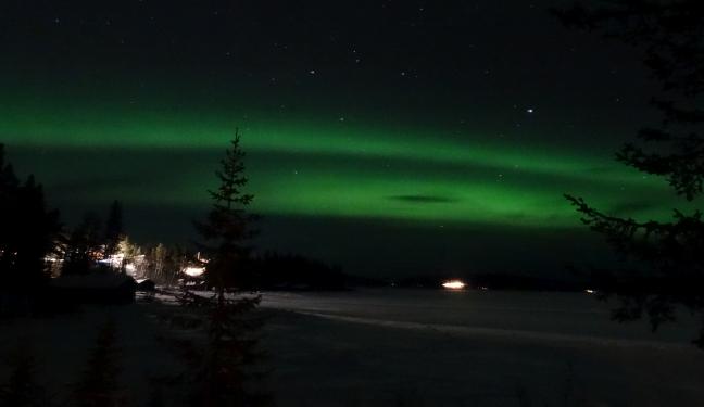 Kiruna Bild: Polarlicht