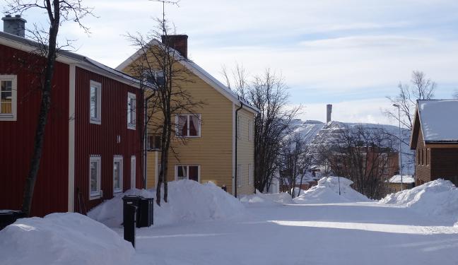 Kiruna Bild: Kirunavaara