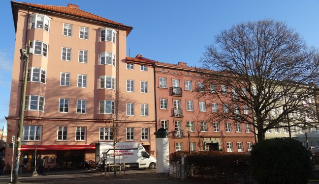 Malmö Bild: Davidshallstorg