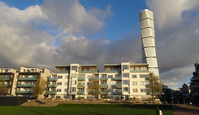 Malmö Bild: Västra hamnen mit Turning Torso