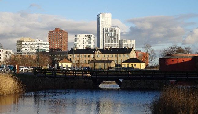 Malmö Bild: Brücke am Malmöhus