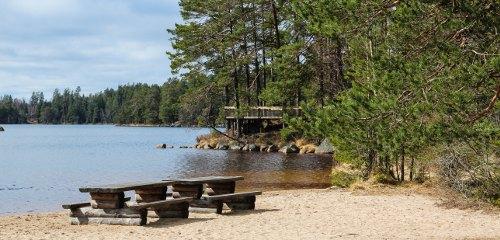 Tiveden Nationalpark (Unden): Camping & Ferienhaus-Urlaub