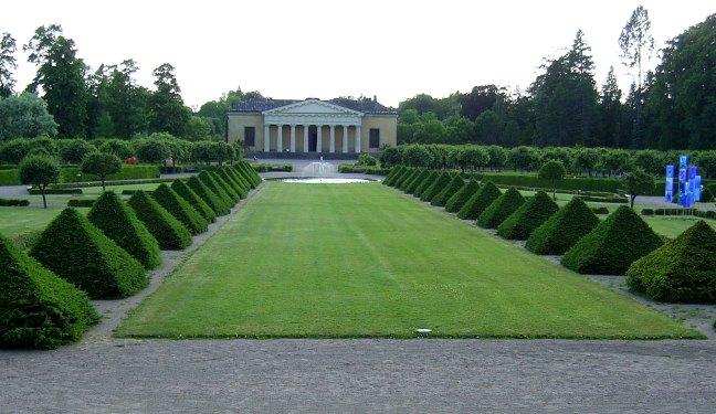 Uppsala Bild: Botanischer Garten