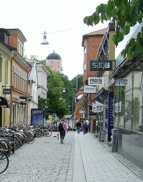 Uppsala Bild: Bredgränd