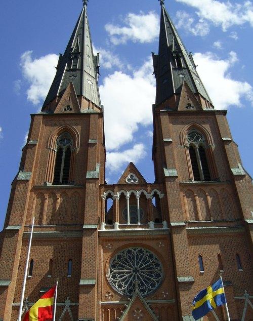 Uppsala Bild: Domkirche St. Erik
