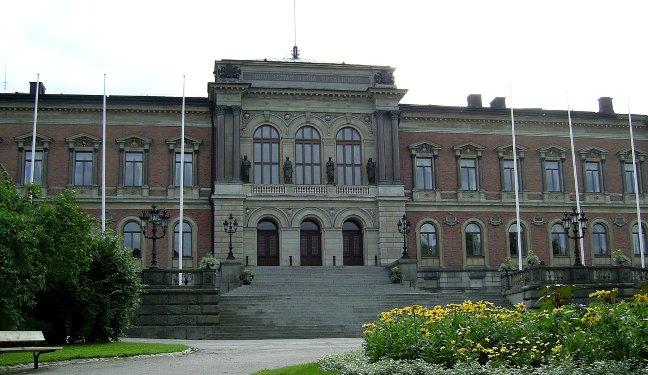 Uppsala Bild: Universitätshaus