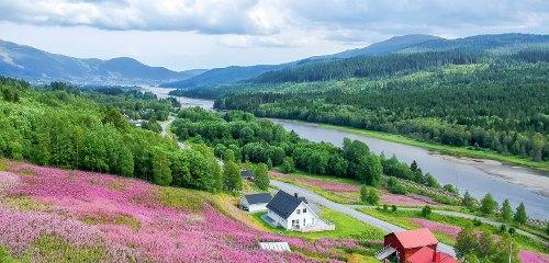 Jämtland-Dreieck: Wandern am Sylan bei Duved