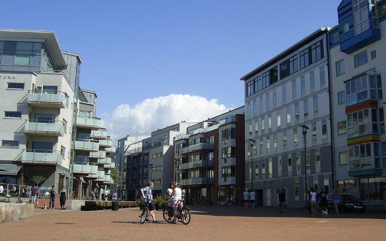 Schweden: moderne Architektur