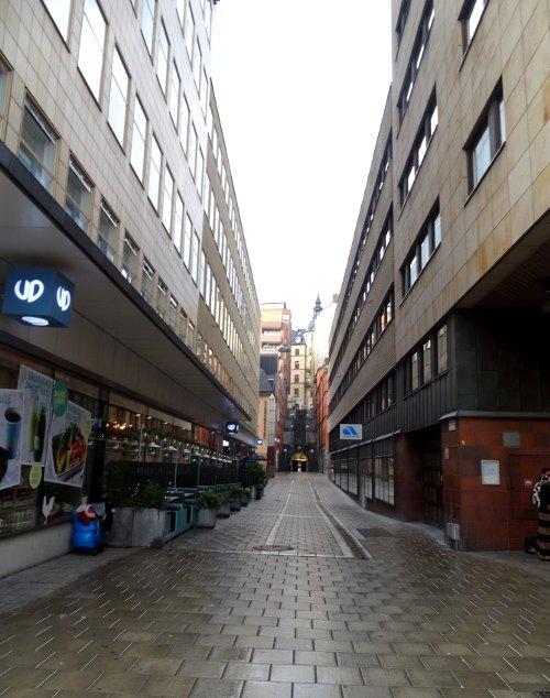 Schweden: hässliche Stadt