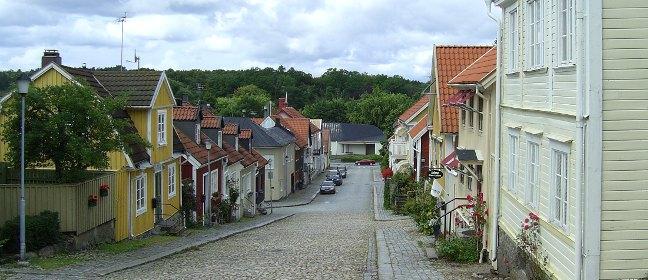 Schweden: Holzstadt