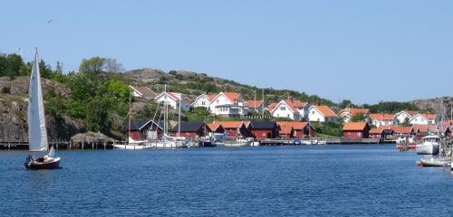 Bohuslän: Camping- & Ferienhaus-Urlaub am Meer