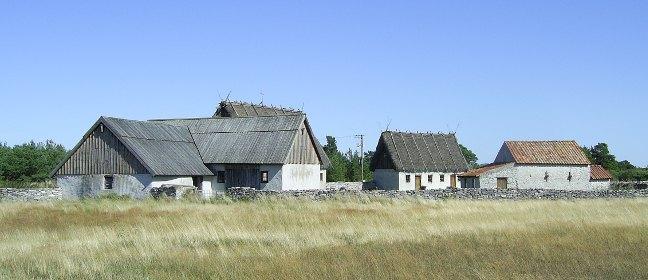 Fårö: einfache Landhäuser
