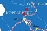 Schwedische Vildmark in Dalarna